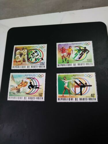 Primary image for Vintage Haute Volta 1976 Montreal sports olympics