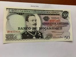 Mozambique 50 escudos banknote 1970 #2 - $5.95