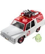Ghostbusters ECTO-1 Vehicle and Slimer Figure - £66.99 GBP