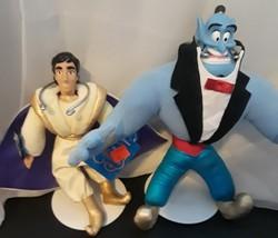 Disney Aladdin Genie Applause Plush Dolls On Stands - $23.50