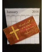 2018-2019 goodness of the Lord 2 Year  Pocket Planner Calendars ( pslam ... - $1.88