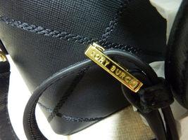 NWT Tory Burch Black Saffiano Mini Robinson Stitched Dome Cross Body Bag  - $425 image 8