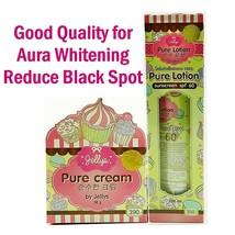 Jelly PURE Cream Lotion Aura Whitening Skin Glutathione Beauty Reduce Bl... - $31.67