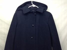 LC Tailorwear England Warm Winter Wool Blend Hooded Coat