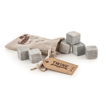 Country Home Glacier Rock Cooling Stones (Set of 6) by Twine - $12.99