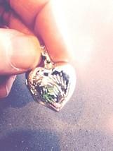 Vintage Style 925 Sterling Silver Heart Locket Pendant Choker Necklace - $27.72