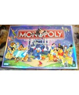 The DISNEY Edition Monopoly Board Game 2001 ~  COMPLETE - $30.00