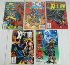 X-Factor #110-114 Lot of 5 comics 1995 Marvel Comics - C5051 - £6.42 GBP