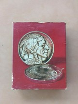 Avon Buffalo Nickel Spicy After Shave Full In Box Vintage 5oz Free Shipp... - $15.99