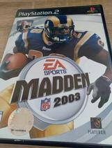 Sony PS2 Madden 2003 (no manual) image 1