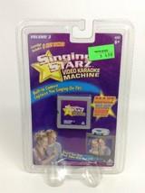 Singing Starz Video Karaoke Machine Cartridge Volume 3 New Jakks Pacific - $9.85