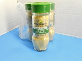 McCormick Gourmet Organic Ground Mustard 1.75 oz (6 Pack) Exp 08/2021--10D - $17.42