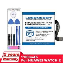 Losoncoer 1100mAh HB512627ECW Battery For Huawei Watch 2 Pro 4G EO-DLXXU Watch G - $41.68