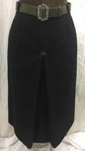 Vintage ChristaModen Salzburg Austria Lined Skirt Womens Black PureWool ... - $79.19