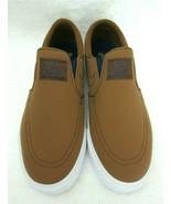 Nike Mens Zoom Stefan Janoski Slip On Canvas Skate Shoes British Tan Siz... - $59.39
