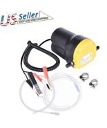 12V Motor Oil Diesel Extractor Scavenge Suction Transfer Change Pump Tub... - $46.20