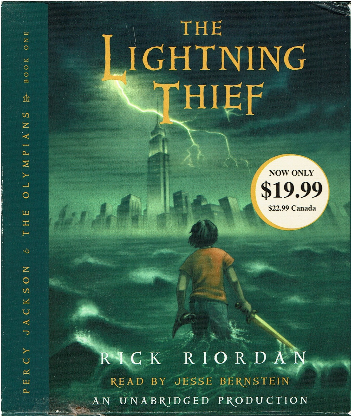 The Lightning Thief (Percy Jackson and the Olympians), Audiobook by Rick Riordan