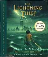 The Lightning Thief (Percy Jackson and the Olympians), Audiobook by Rick... - $19.99