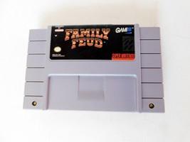Super Nintendo SNES Family Feud Game Cartridge - $7.19