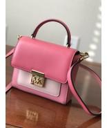 Michael Kors Mindy Mini Convertible Pebbled Leather Crossbody Purse Bag NWT - $133.64