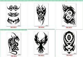 Dragon Temporary Tattoos Body Arm Sticker Half Sleeve Fake Waterproof (6 sheets) image 5