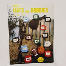More Hats and Hobbies Cross Stitch Booklet Joyce Seebo Creations 1985 Sp... - $14.99