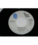 The Pointer Sisters Yes We Can Can Jada 45 Rpm Record Blue Thumb Label - $12.99