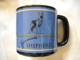 RUSS Mugs German Shepherd Dog Large Coffee Tea Cup Mug Blue, Black, Coll... - $13.72
