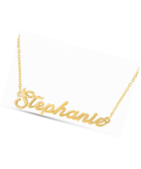 925 Sterling Silver Personalized Name Necklace Pendant Charm - $19.49