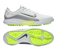 Nike Vapor White / Volt Golf Shoes Size 10.5 New  Closeout! Fast Shipping! - $44.99