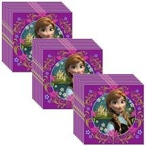 Hallmark Disney Frozen Party Lunch Napkins - 24 Guests - $18.76