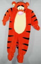 TIGGER CHILD HALLOWEEN COSTUME DISNEY STORE WINNIE THE POOH PLUSH HOOD S... - $38.61