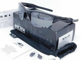 Oakley Half Jacket 2.0 XL Sunglasses OO9154-01 Polished Black W/ Black i... - $89.09