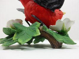 THE LENOX GARDEN BIRD COLLECTION Scarlet Tanager (Fine Porcelain 1992) image 11