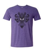 Womens American Apparel Disney Haunted Mansion Wallpaper Icon T Shirt Si... - $14.95