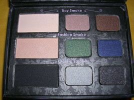 Too Faced Smoky Eye Shadow Collection Palette 9 Shadows Applicators NIB   READ! - $29.65