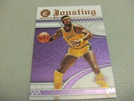 2016-17 Panini Excalibur JOUSTING #21 Wilt Chamberlain -Los Angeles Lakers- - $3.12