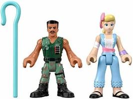 Fisher-Price Disney Pixar Toy Story 4 Combat Carl and Bo Peep - $9.45