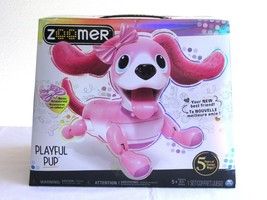ZOOMER PLAYFUL PUP Interactive Robotic Dog Realistic Movement & Sounds 2... - $49.99