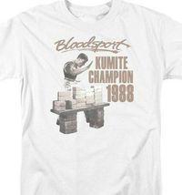 Bloodsport t-shirt 1988 Kumite Champion retro 80s movie graphic tee MGM399 image 3