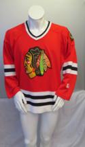 Chicago Blackhawks Jersey (VTG) -  Crested Away Red by Starter - Men's Large  - $125.00
