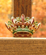 Vintage Crown Trifari© Fleur de Lis Maltese Cross Crown Brooch, 1968 L'O... - $335.00