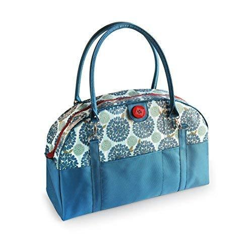 2 Red Hens Coop Carry-All Diaper Bag, Peacock Mum by 2 Red Hens