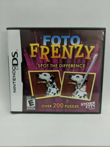 Foto Frenzy: Spot the Difference (Nintendo DS, 2009)