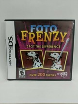 Foto Frenzy: Spot the Difference (Nintendo DS, 2009) - $6.43