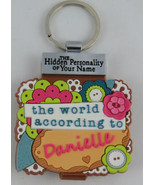 World According to Keyring Book Danielle Key Chain - $1.97