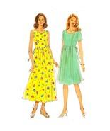 Misses Dress Simplicity 7701 Sewing Pattern Vintage 1997 Size 8-18 c2748 - $9.99