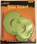 2-Pack Foam Door Guard Set (Green) - $5.53