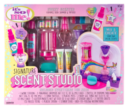 New It's So Me Signature Scent Studio Sweet Scented Perfumes Body Shimmer Tatoos