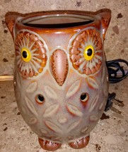 Full Size Owl Wax Warmer Fragrance Plug In Table Top - $9.89
